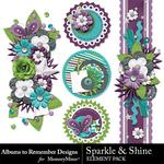 Sparkle and Shine Clusters Pack-$2.49 (Albums to Remember)