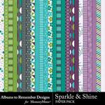 Sparkle and Shine Paper Pack-$3.99 (Albums to Remember)