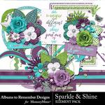 Sparkle and Shine Embellishment Pack-$3.49 (Albums to Remember)
