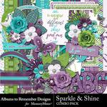 Sparkle and Shine Combo Pack-$4.99 (Albums to Remember)
