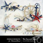 The Sea and Sand Cluster Pack-$1.99 (Indigo Designs)