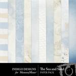 The Sea and Sand Paper Pack-$2.99 (Indigo Designs)