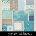 Just Beachy Journal Cards-$1.99 (Lindsay Jane)