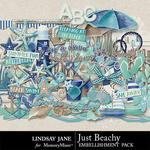 Just Beachy Embellishment Pack-$3.49 (Lindsay Jane)