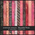 A Beautiful Noise Blended Paper Pack-$2.40 (Jumpstart Designs)