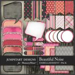 A Beautiful Noise WordBits Pack-$3.99 (Jumpstart Designs)