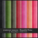 A Beautiful Noise Plain Paper Pack-$1.80 (Jumpstart Designs)