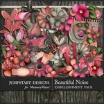A Beautiful Noise Embellishment Pack-$4.99 (Jumpstart Designs)