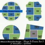 Shape It Frames 05 QuickMix-$3.49 (Albums to Remember)