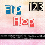 Flip Flop State of Mind Alphabet Pack-$2.49 (Laura Burger)