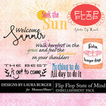 Flip Flop State of Mind WordArt Pack-$2.00 (Laura Burger)