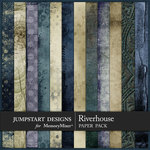Riverhouse Blended Paper Pack-$3.99 (Jumpstart Designs)