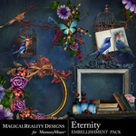 Eternity Clusters Pack-$3.99 (MagicalReality Designs)