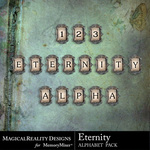 Eternity Alphabet Pack-$3.29 (MagicalReality Designs)