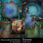 Eternity Stacked Paper Pack-$4.50 (MagicalReality Designs)