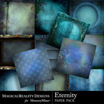 Eternity Paper Pack 1-$3.99 (MagicalReality Designs)
