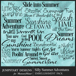 Silly Summer Adventures WordArt Pack-$2.99 (Jumpstart Designs)