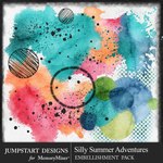 Silly Summer Adventures Accent Pack-$3.99 (Jumpstart Designs)