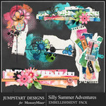 Silly Summer Adventures Cluster Pack-$3.99 (Jumpstart Designs)