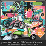 Silly Summer Adventures Extras Pack-$3.99 (Jumpstart Designs)