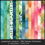 Silly Summer Adventures WaterColor Pack-$3.99 (Jumpstart Designs)