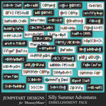 Silly Summer Adventures Fun Bits Pack-$2.99 (Jumpstart Designs)