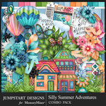 Silly Summer Adventures Combo Pack-$7.99 (Jumpstart Designs)