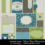 More Than Memories Journal Cards Pack-$1.40 (Lindsay Jane)