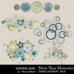 More Than Memories Scatterz Pack-$1.99 (Lindsay Jane)