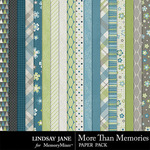 More Than Memories Paper Pack-$1.75 (Lindsay Jane)