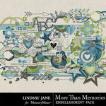 More Than Memories Embellishment Pack-$3.49 (Lindsay Jane)