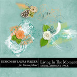 Living In The Moment Scatters Pack-$2.49 (Laura Burger)
