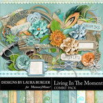 Living In The Moment Combo Pack-$6.99 (Laura Burger)