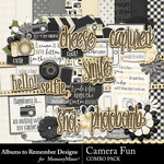 Camera Fun Combo Pack-$4.99 (Albums to Remember)