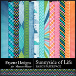 Sunnyside of Life Basics Paper Pack-$3.99 (Fayette Designs)
