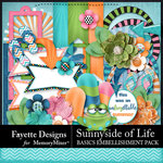 Sunnyside of Life Basics Embellishment Pack-$2.80 (Fayette Designs)