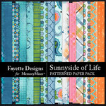 Sunnyside of Life Patterned Paper Pack-$3.99 (Fayette Designs)