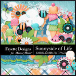 Sunnyside of Life Embellishment Pack-$3.99 (Fayette Designs)