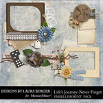 Lifes Journey Never Forget Clusters Pack-$3.49 (Laura Burger)