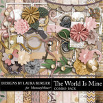 The World is Mine Combo Pack-$7.99 (Laura Burger)