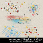 Kingdom of Magic Scatterz Pack-$1.99 (Lindsay Jane)