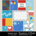 Kingdom of Magic Journal Cards-$1.99 (Lindsay Jane)