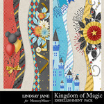 Kingdom of Magic Borders Pack-$1.99 (Lindsay Jane)