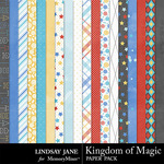 Kingdom of Magic Paper Pack-$2.49 (Lindsay Jane)