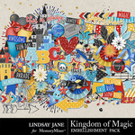 Kingdom of Magic Embellishment Pack-$3.49 (Lindsay Jane)