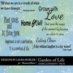 Garden of Life WordArt Pack-$1.25 (Laura Burger)