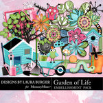 Garden of Life Add On Emb Pack-$3.49 (Laura Burger)