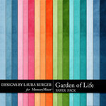 Garden of Life Solid Paper Pack-$1.75 (Laura Burger)