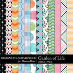 Garden of Life Pattern Paper Pack-$1.75 (Laura Burger)