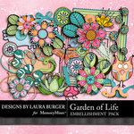 Garden of Life Embellishment Pack-$3.49 (Laura Burger)